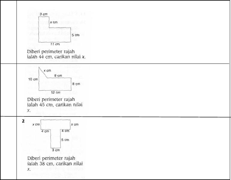 Bab 11 Perimeter Dan Luas Tingkatan 1 Pdf Document