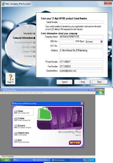 Modul Myob 18 Terbaru Pdf Document